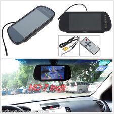 "7 ""HD Color screen CAR REVERSE Rear View Backup Camera DVD MIRROR Monitor + Remote"