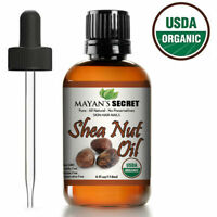 Shea Nut Oil USDA Certified Organic Undiluted Cold Pressed for Skin Hair Lips