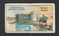 EDMONDSON - FAMOUS CASTLES - #20 CAREW