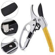 Garden Pruning Shears Pruner Ratchet Scissors Branch Cutter Trimmer Home Tools