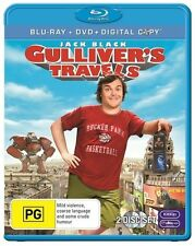 Gulliver's Travels (Blu-ray, DVD & Digital Copy 2011, 2-Disc Set) New & Sealed