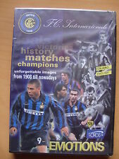 DVD INTER ONE CENTURY OF EMOTIONS UFFICIALE HISTORY     NEW