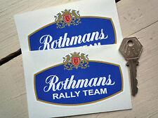 ROTHMANS RALLY TEAM SPONSOR LOGO Porsche 911 Escort BDA