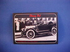 1912 Louis Chevrolet w/Classic Six collector card from 20 yr old set--brand new