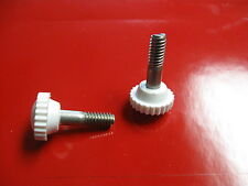 "Bimini Top, Boat Shade Cover,Thumb Head Screw 1-3/8"" L, Fastener 1/4""-20x7/8"""