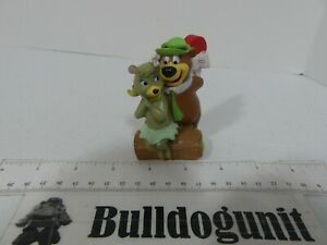 1993 Dairy Queen Yogi Cindy Bear Heart  Figure Kids Toy