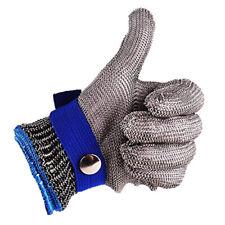 Cutproof Stab Resistant Stainless Steel Gloves Safety Metal Mesh Butcher Durable