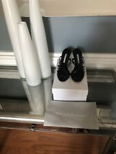 Manolo Blahnik Size 39 Patent Leather Mule Sandal