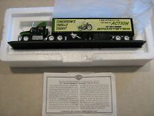 Matchbox Collectibles 1957 Harley Davidson Sportster Tractor Trailer 1:87