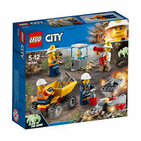 60184 LEGO CITY Mining Team with Glow in the Dark Figure 82 Pieces Age 5+