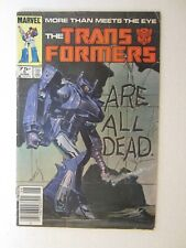 The Transformers Issue #5 Marvel Comic June 1985 Newsstand Edition FREE SHIPPING
