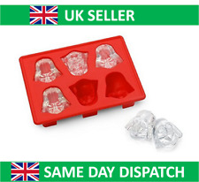 Star Wars Ice Cube Tray - Darth Vader - Mould Silicone Cake Jelly Whisky UK