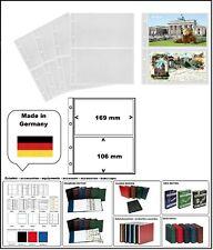 5 LOOK 338575-5 POSTKARTENHÜLLEN NUMOH 2C NH2C 169x106mm Für POSTKARTEN