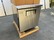 True Tuc-27-Hc undercounter stainless steel refrigerator casters Kitchen bakery