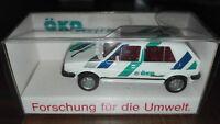 Wiking Werbemodell VW Golf II  - Ökogolf ,  OVP