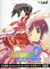 To Heart 2 XRATED Leaf PC Windows Game Bishoujo Japan import F/S New! From Japan