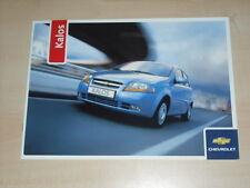 45488) Chevrolet Kalos Prospekt 09/2005