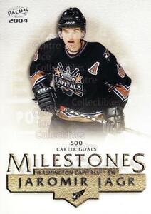2003-04 Pacific Milestones #8 Jaromir Jagr