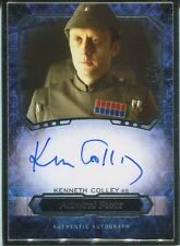 Star Wars Masterwork 2016 Metal Framed Autograph [*/10] Kenneth Colley