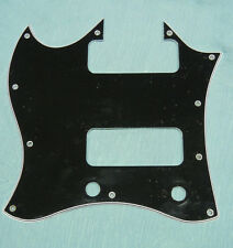 LEFT HANDED batwing pickguard for Gibson 50s Tribute SG with P-90s P90 Soapbar