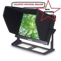 "LILLIPUT 10.1"" TM-1018/S SDI 1280X800 IPS Touch On Camera peaking waveform LP-E6"