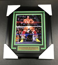 THE ULTIMATE WARRIOR WWE WWF PHOTOFILE 8x10 UN-SIGNED PHOTO FRAMED