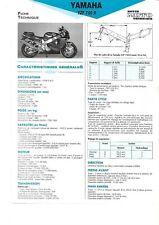 yamaha yzf750 r  1993 1994 fiche technique revue technique moto YZF 750 R