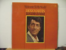 DEAN MARTIN - Welcome To My World -..VINYL LP - Free UK Post
