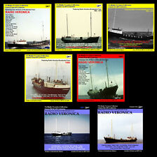 More details for pirate radio veronica volumes 1,2,3,4,5,6 & 7 (free uk shipping) listen in car