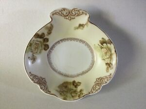 Vintage Hermann Ohme Silesia Old Ivory Handled Tabbed BOWL AsFound
