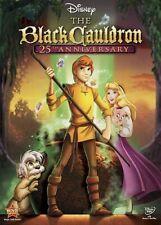 The Black Cauldron DVD 25th Anniversary Edition - Brand New!