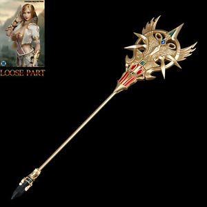 """SUPER DUCK SET043 1/6 Scale Fairy Elf Cospaly Scepter For 12"""" Action Figure"""