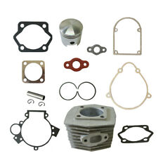 Cylinder&Piston&Pin Clips Wrist&Gasket Set For 80cc Motorised Bicycle Bike Motor