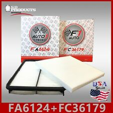 FA6124 FC36179 ENGINE & CABIN AIR FILTER ~ 2011-2014 SONATA & 2014-2016 CADENZA