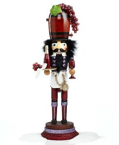 "Kurt Adler 19"" Hollywood Wine Nutcracker - Beautiful!!"