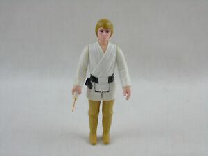 Vintage Kenner 1977 STAR WARS Luke Skywalker Farmboy Brown / Olive Hair FIGURE