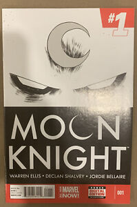 Moon Knight #1 Marvel Comics 2014 Warren Ellis Declan Shalvey 1st Print Disney+