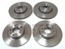 PEUGEOT EXPERT 1.6 2.0 HDi 2007-2016 FRONT & REAR BRAKE DISCS SET NEW