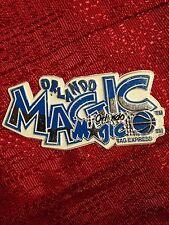 Orlando Magic NBA Rubber Magnet Vintage Standings Fridge