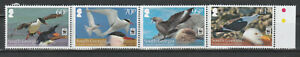 2012 SOUTH GEORGIA & SANDWICH Is. WWF Seabirds SET MNH $18