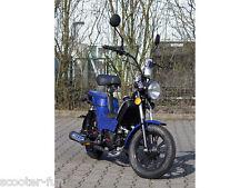 Retro Moped 45 km/h  , Moped Roller, Mofa, Automatik mit Pedalen, Neu