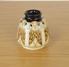 Moorcroft Tengu Hiboux par vicky lovatt 198/3 vase RRP £ 170