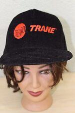 Trane Air Conditioners Black Baseball Trucker Cap Hat Adjustable Snapback