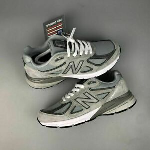 New Balance Men's 990V4 Gray & Pink- Men and Women Shoes Limited Edition