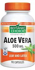 Botanic Choice Aloe Vera 500 mg, 90 Capsules (free shipping)