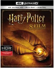 HARRY POTTER 8 FILM COLLECTION  (4K ULTRA HD) - Blu Ray -  Region free