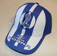 Ford Falcon XC Cobra Logo Mens Blue White Embroidered Cap One Size New