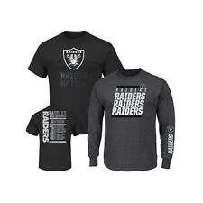 Oakland Raiders Officially Licensed NFL 3-in-1 T-Shirt Combo by VF Imagewear 4XL