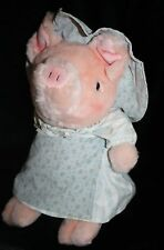 "Beatrix Potter AUNT PETTITOES PIG 15"" Eden Plush Soft Toy Frederick Warne Pink"