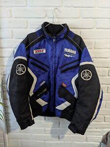Team Yamaha Racing Sports Vintage Rare Jacket Men's Size XL Retro motosport